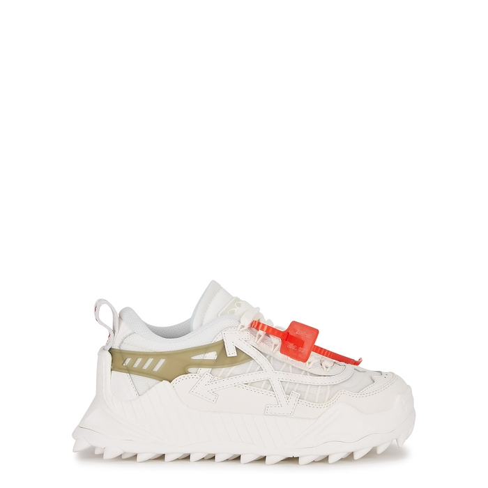 Off-White High tops ODSY-1000 WHITE PANELLED SNEAKERS