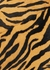 Bougie tiger-print calf hair top handle bag - BY FAR