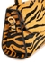Mini tiger-print calf hair top handle bag - BY FAR