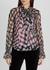 Tina printed chiffon blouse - Diane von Furstenberg