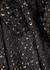 Ophelia metallic-weave devoré blouse - A.L.C.