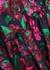 Simone floral-print satin midi dress - MISA