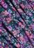 Lucia floral-print chiffon maxi skirt - MISA