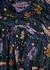 Milja floral-print lamé-weave chiffon maxi dress - Veronica Beard