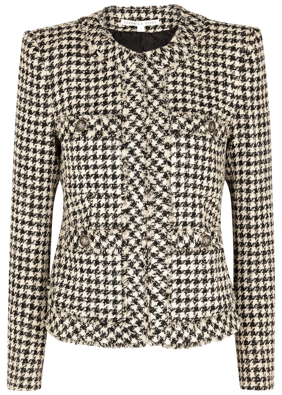 Shanti houndstooth tweed jacket