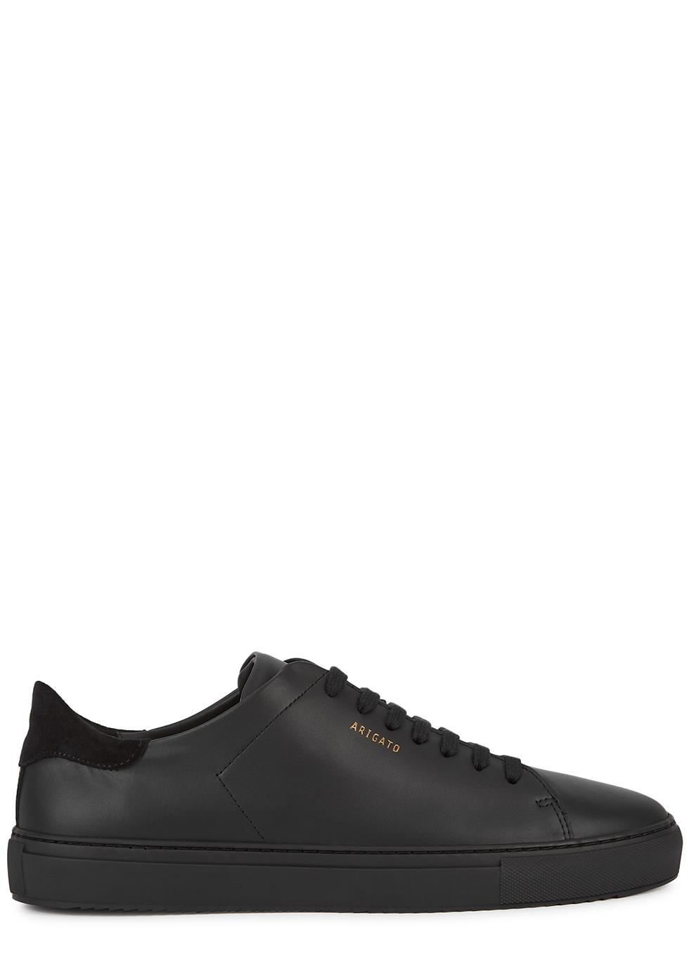 Clean 90 black leather sneakers