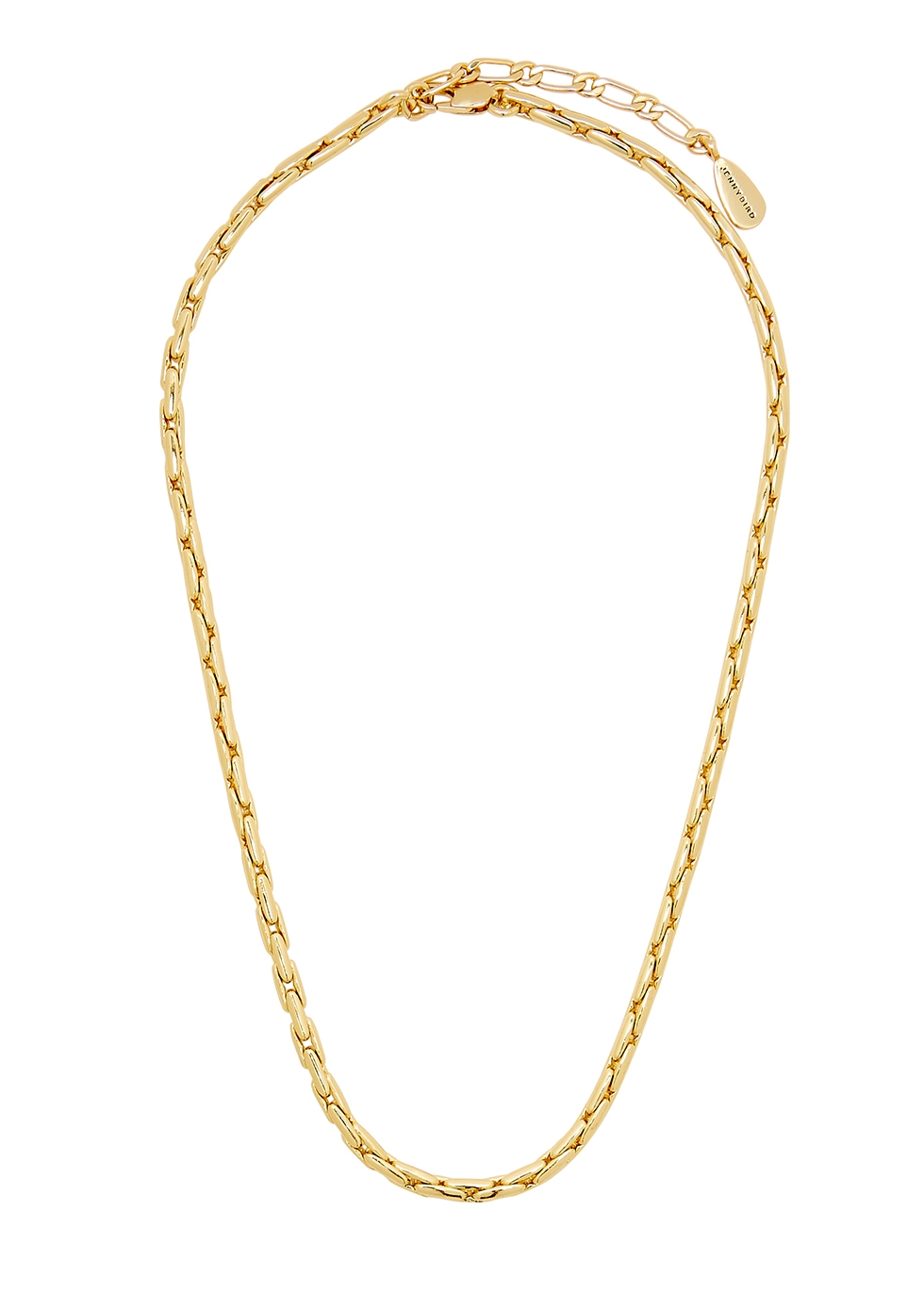 Constance 14kt gold-dipped chain necklace