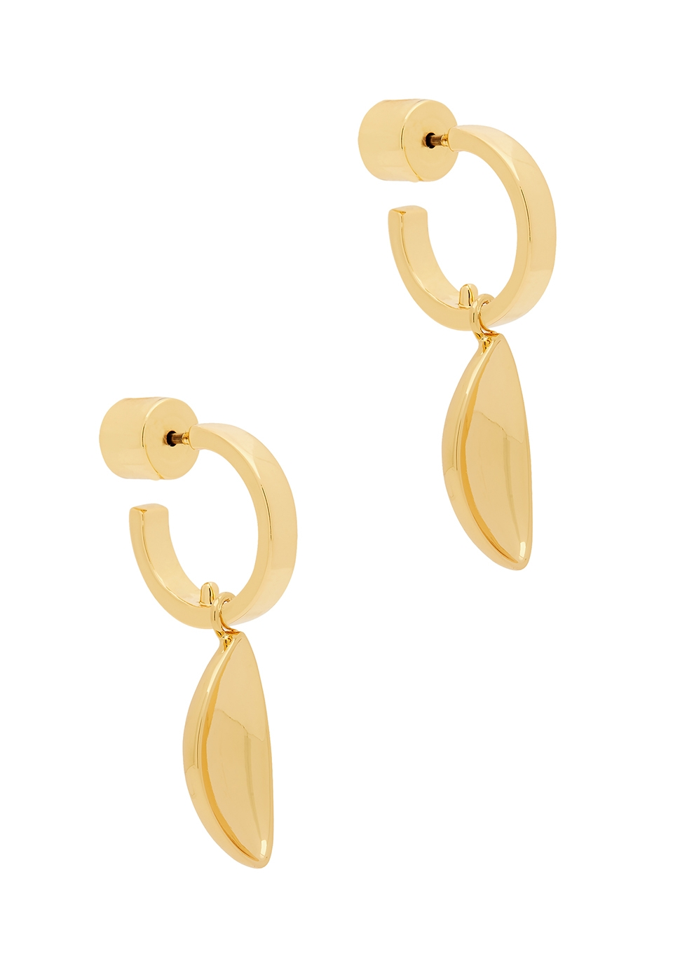 Cordo hoop earrings set - two pairs