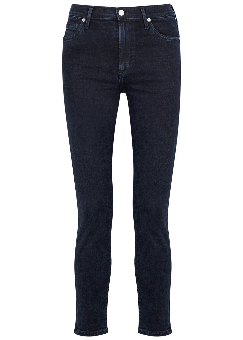 Rocket indigo cropped skinny jeans
