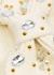 Ivory embellished stretch-knit headband - Lele Sadoughi