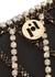 Greta crystal-embellished shoulder bag - Rosantica