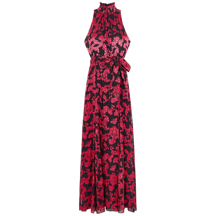 Alice And Olivia DITA DEVORÉ MAXI DRESS