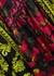 Dottie printed reversible satin kimono jacket - Alice + Olivia