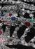 Pearly Skeleton jacquard wool-blend scarf - Alexander McQueen