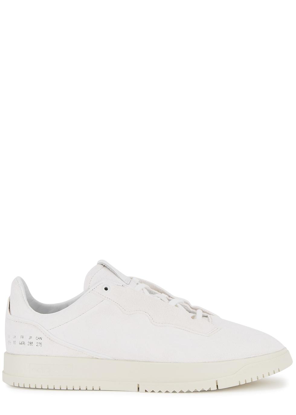 Supercourt Premium white suede sneakers