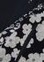 Elitist floral-print mesh and satin midi dress - HIGH