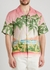 Rose A Maui printed linen shirt - CASABLANCA