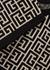 Monogrammed stretch-knit bra top - Balmain