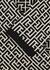 Monogrammed stretch-knit mini dress - Balmain