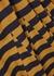 Striped jersey midi dress - MONSE