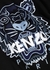 Black tiger-embroidered cotton sweatshirt - Kenzo