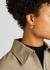 Gold-tone hoop earrings - Jil Sander