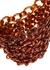 Link brown resin top handle bag - Jil Sander