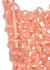 Link pink resin top handle bag - Jil Sander