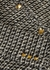 Metallic-weave embellished tweed jacket - Valentino