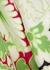 Printed silk-crepe midi dress - Valentino