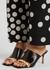 Valentino Garavani Rockstud Tower Hill 70 leather mules - Valentino