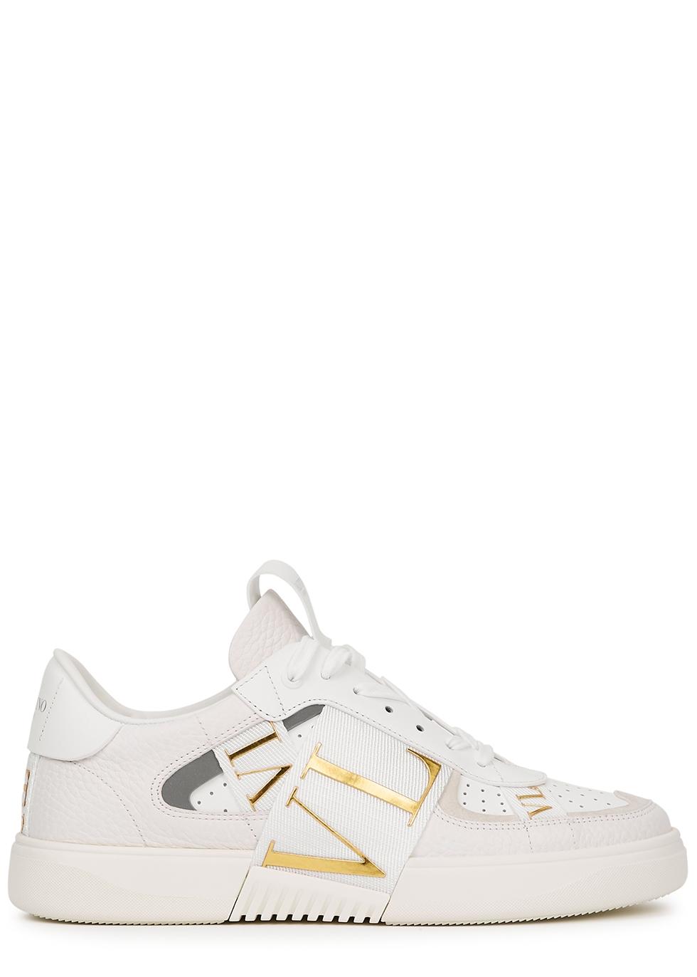 Valentino Garavani VL7N panelled leather sneakers