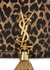 Kate leopard-print leather wallet-on-chain - Saint Laurent