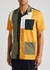 Brandon colour-blocked cotton shirt - Wood Wood