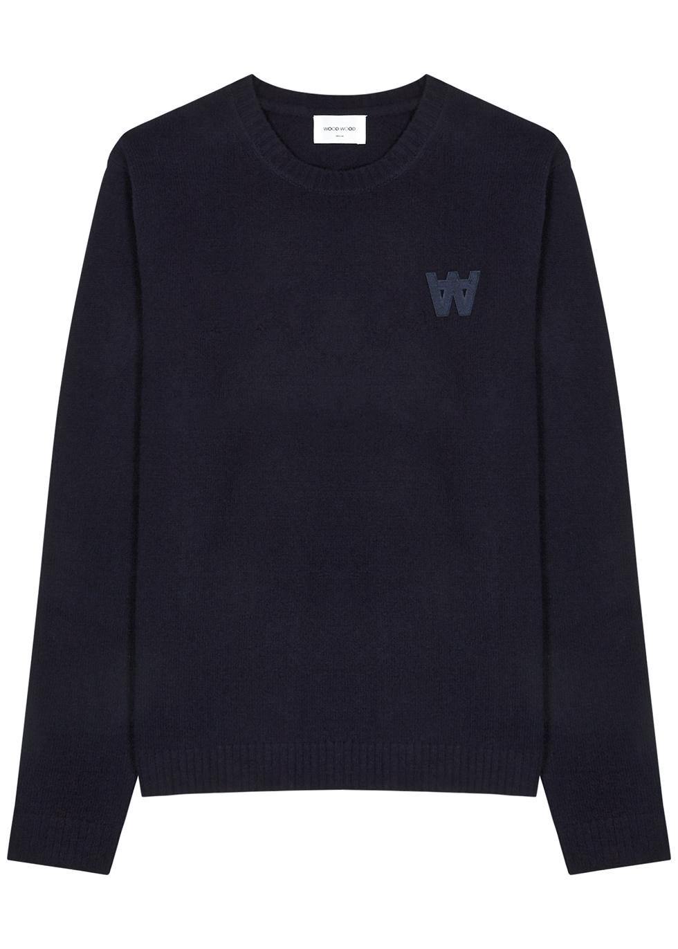 Kevin navy wool jumper