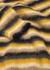 John striped fine-knit jumper - Wood Wood