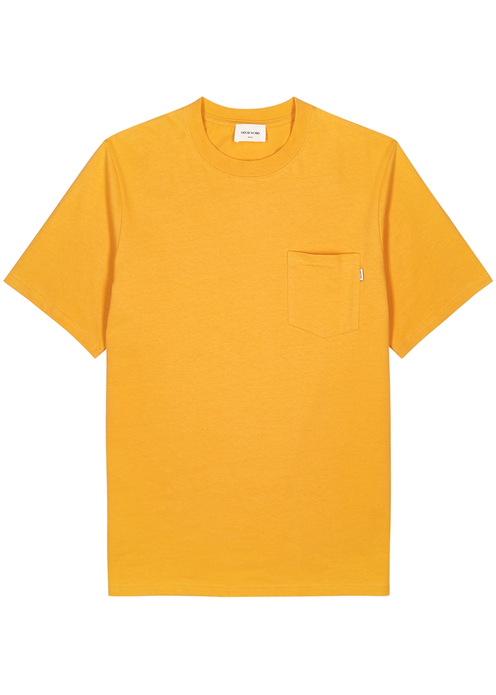 Bobby orange cotton T-shirt