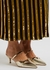 Frankie 45 gold leather mules - Malone Souliers