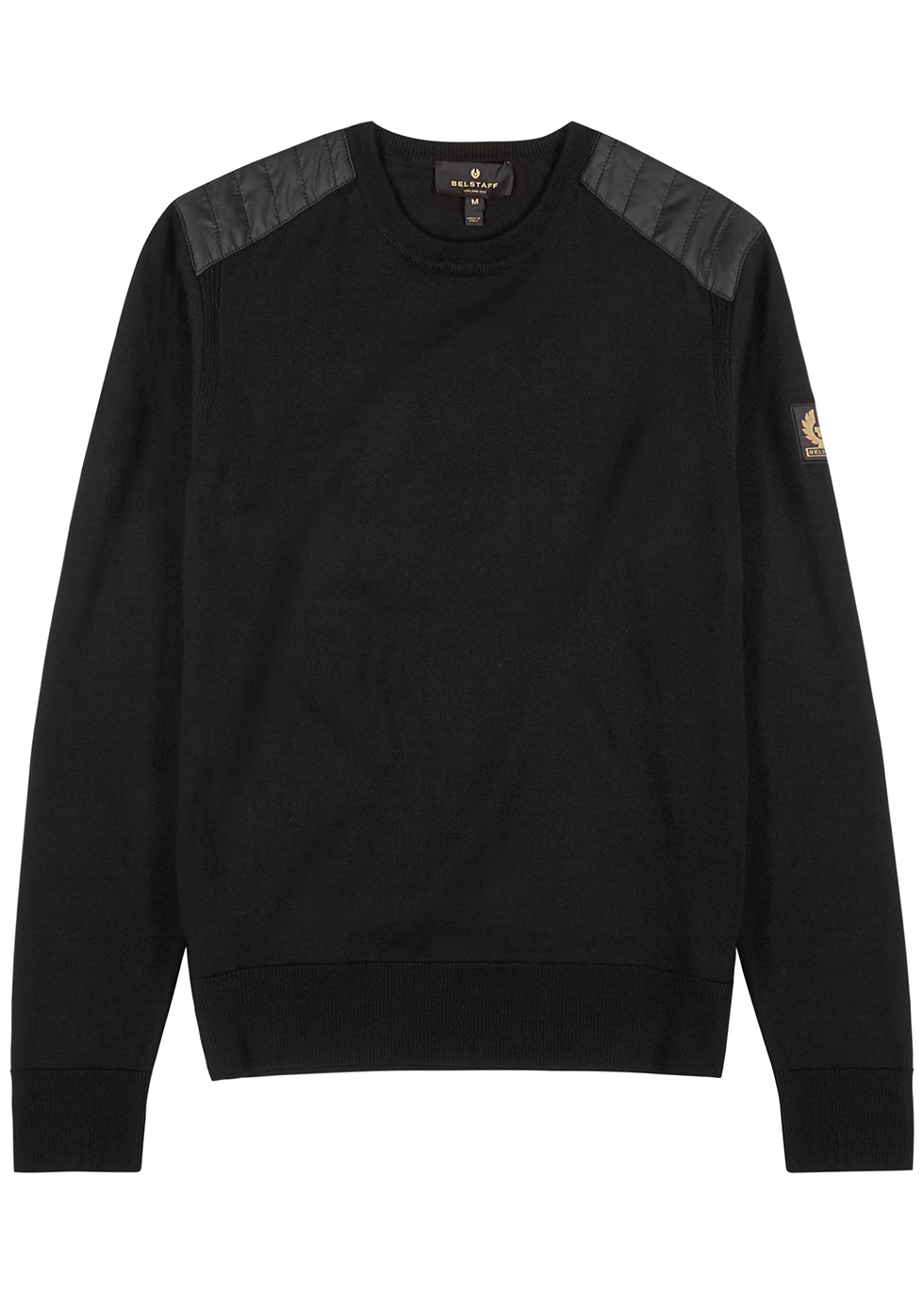 Kerrigan black wool jumper