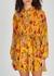 Jen floral-print plissé shirt dress - A.L.C.