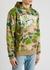 Army green printed cotton sweatshirt - Billionaire Boys Club