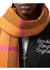 Reversible check and logo cashmere scarf - Burberry