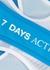Blue layered bra top - 7 Days Active
