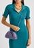 The Mini Pouch Intrecciato lilac leather clutch - Bottega Veneta
