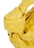 Jodie Intrecciato mini yellow leather top handle bag - Bottega Veneta