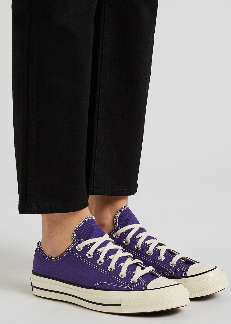 Converse Chuck 70 purple canvas sneakers - Harvey Nichols