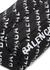 Wheel logo-print nylon belt bag - Balenciaga