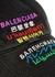 Black logo-embroidered twill cap - Balenciaga