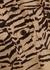 Imani zebra-print silk shirt dress - Soeur