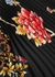 Floral-print pleated satin-twill midi skirt - Victoria, Victoria Beckham